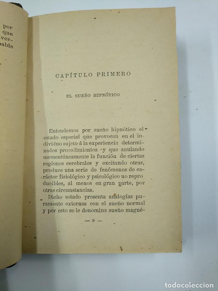 Libros antiguos: LA PRACTICA DEL HIPNOTISMO. ALFREDO RODRIGUEZ DE ALDAO. AYMERICH. TDK32 - Foto 3 - 141114306