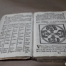 Libros antiguos: EL NON PLUS ULTRA DE EL LUNARIO Y PRONÓSTICO PERPETUO GERONIMO CORTES 1768. Lote 143541414