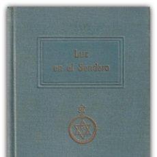 Alte Bücher - 1930 - Teosofía - Esoterismo - Mabel Collins: Luz en el Sendero - Biblioteca Orientalista - 143839778
