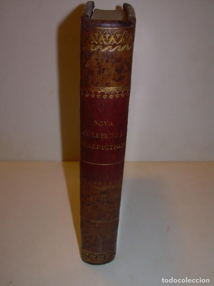 Libros antiguos: LIBRO DE EXORCISMOS Y BENDICIONES.NOVA COLLECTIO FORMAS BENEDICTIONUM...AÑO 1853 - Foto 2 - 145647814