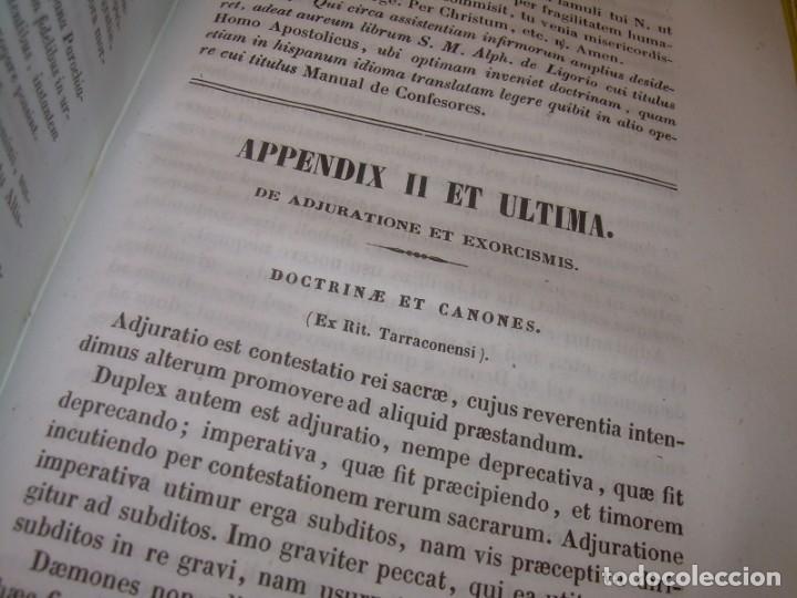 Libros antiguos: LIBRO DE EXORCISMOS Y BENDICIONES.NOVA COLLECTIO FORMAS BENEDICTIONUM...AÑO 1853 - Foto 4 - 145647814