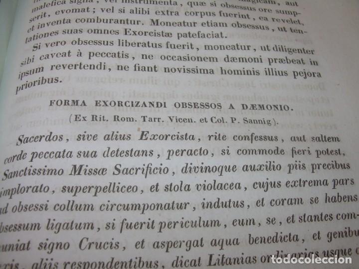Libros antiguos: LIBRO DE EXORCISMOS Y BENDICIONES.NOVA COLLECTIO FORMAS BENEDICTIONUM...AÑO 1853 - Foto 7 - 145647814