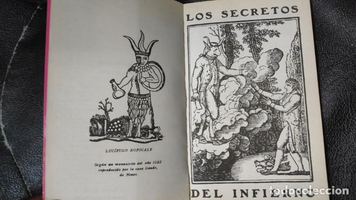 Libros antiguos: LOS SECRETOS DEL INFIERNO - Foto 3 - 149509094
