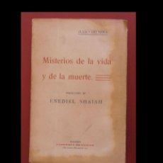 Libros antiguos: MISTERIOS DE LA VIDA Y DE LA MUERTE. JULIO LERMINA. Lote 149563138
