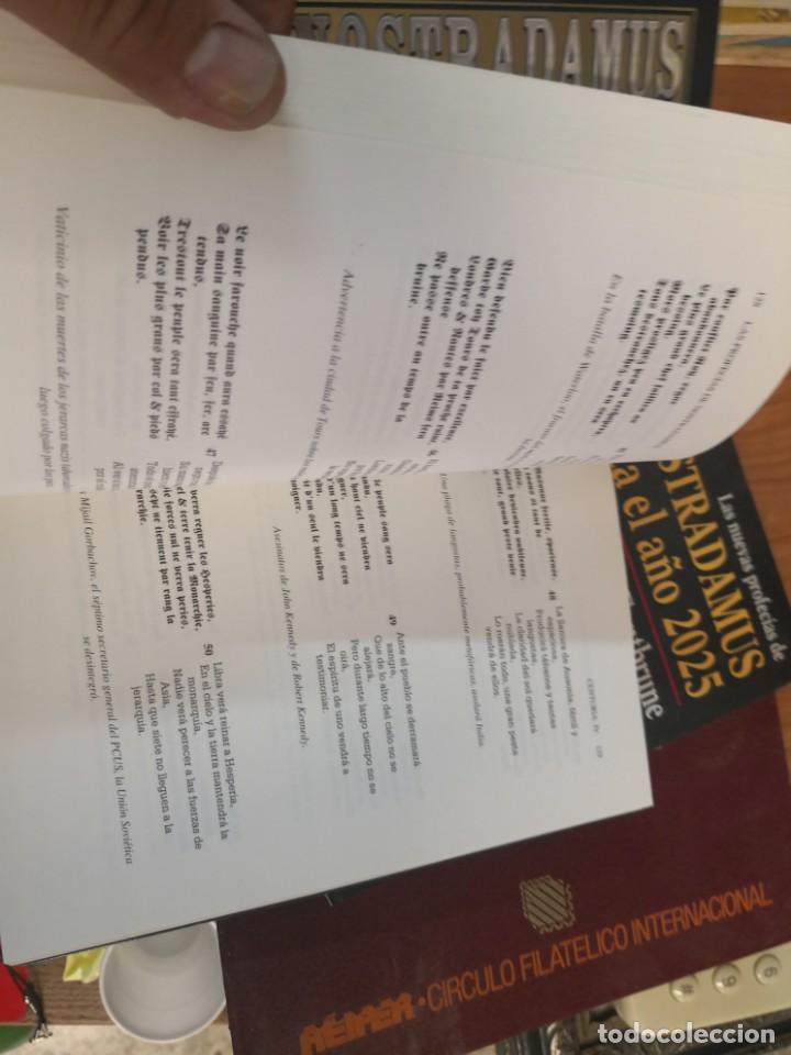 Libros antiguos: NOSTRADAMUS - TODAS SUS PROFECÍAS. EDICIÓN COMENTADA Y BILINGÜE EN FRANCÉS Y Castellano. 339 paginas - Foto 4 - 149932186