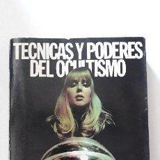 Libros antiguos: TECNICAS Y PODERES DEL OCULTISMO. JEAN-MICHEL PEDRAZZANI. EDICIONES 29. BARCELONA, 1976. 1ª EDICION.. Lote 150691842