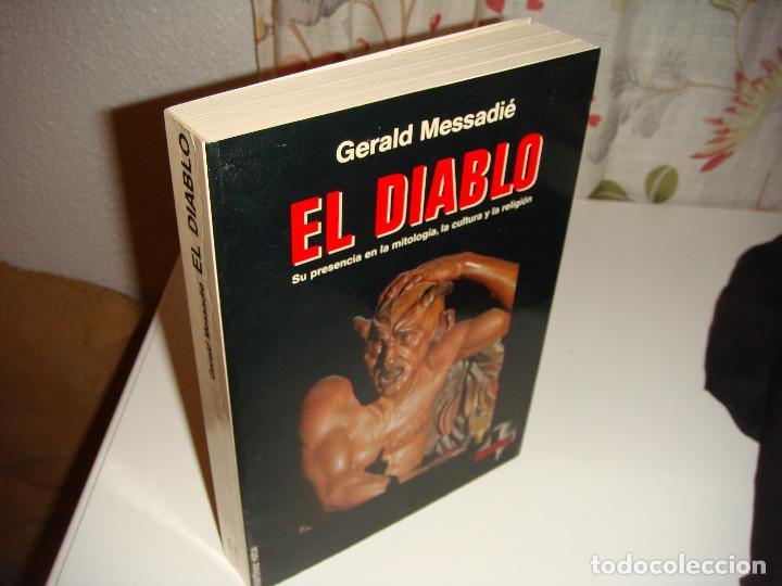 Libros antiguos: EL DIABLO: GERALD MESSADIÉ - Foto 3 - 150949070
