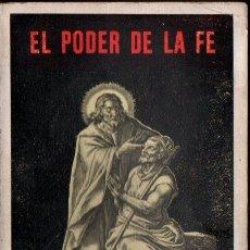 Libros antiguos: PLANK : EL PODER DE LA FE MEDICINA ESPIRITUAL (PONS, C. 1930). Lote 211415861