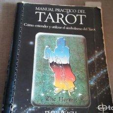 Libros antiguos: MANUAL PRACTICO DEL TAROT POR EMILY PEACH. Lote 151354574