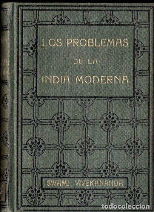SWAMI VIVEKANANDA : LOS PROBLEMAS DE LA INDIA MODERNA (ANTONIO ROCH, C. 1930) (Libros Antiguos, Raros y Curiosos - Parapsicología y Esoterismo)
