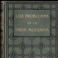 Libros antiguos: SWAMI VIVEKANANDA : LOS PROBLEMAS DE LA INDIA MODERNA (ANTONIO ROCH, C. 1930). Lote 151888326