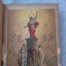 Libros antiguos: 1889 HISTORIA GENERAL DE LA MASONERIA DANTON POR EMILIO CASTELAR RELIGION ARTE MASONES. Lote 152977502