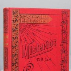 Libros antiguos: MISTERIOS DE LA CIENCIA. ANIMAL, SONAMBULISMO,HIPNOTISMO,ESPIRITISMO- ARMANDO BAEZA. . Lote 154329562