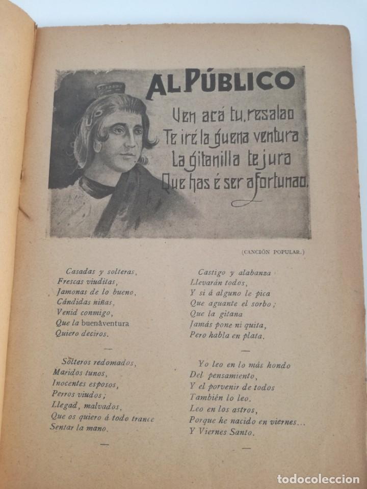 Libros antiguos: EL LIBRO DE LAS ADIVINANZAS O SEA LA BUENAVENTURA - GITANA AZUCENA (1916) - ARTE DE ATRAPAR MARIDO - Foto 3 - 157949390