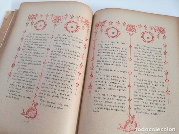 Libros antiguos: EL LIBRO DE LAS ADIVINANZAS O SEA LA BUENAVENTURA - GITANA AZUCENA (1916) - ARTE DE ATRAPAR MARIDO - Foto 6 - 157949390