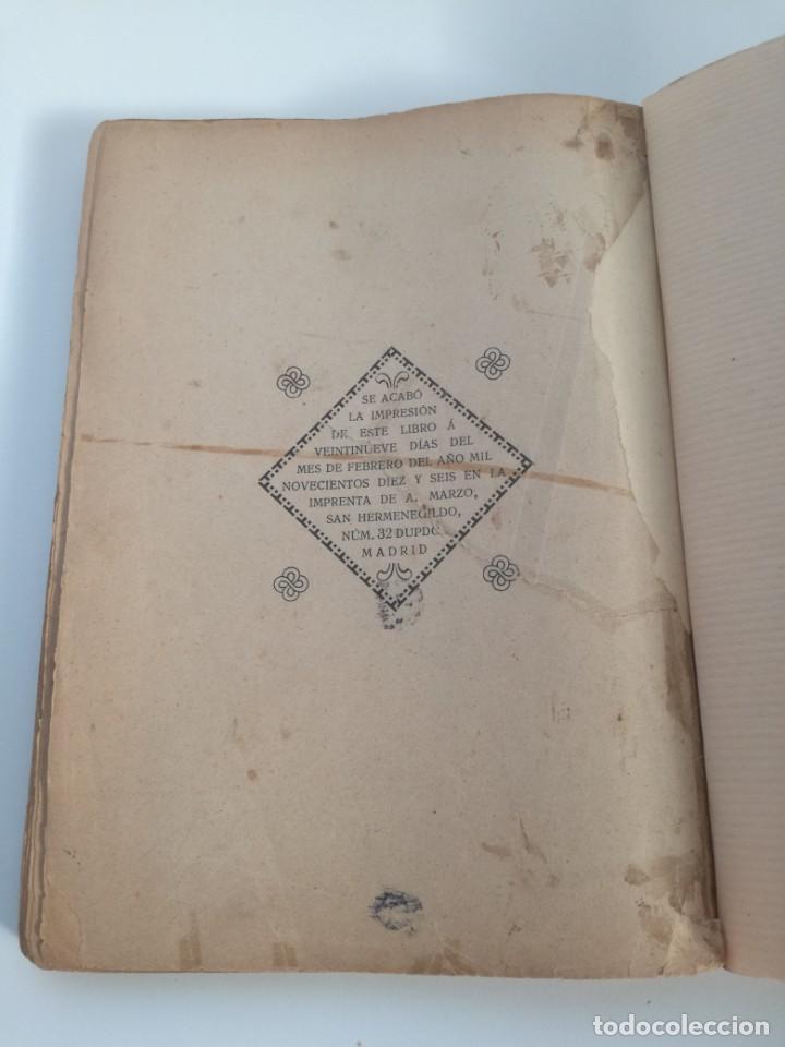 Libros antiguos: EL LIBRO DE LAS ADIVINANZAS O SEA LA BUENAVENTURA - GITANA AZUCENA (1916) - ARTE DE ATRAPAR MARIDO - Foto 9 - 157949390