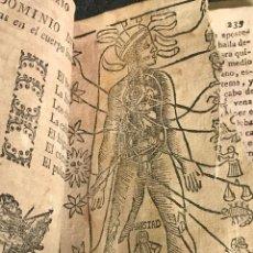 Libros antiguos: EL NON PLUS ULTRA DE EL LUNARIO Y PRONÓSTICO PERPETUO GERONIMO CORTES SIGLO XVIII. Lote 158831878