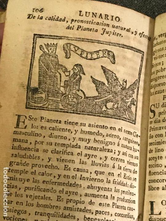 Libros antiguos: EL NON PLUS ULTRA DE EL LUNARIO Y PRONÓSTICO PERPETUO GERONIMO CORTES siglo XVIII - Foto 5 - 158831878