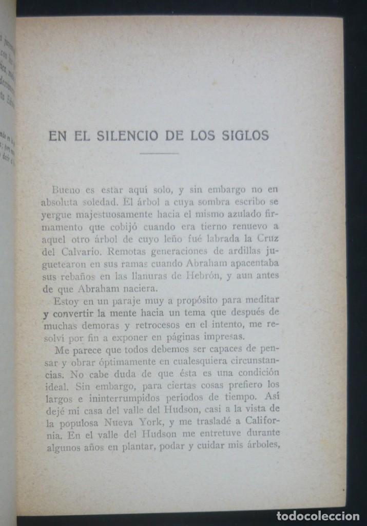 Libros antiguos: 1930 - Rodolfo Waldo Trine: Mi Filosofía y Mi Religión - Nuevo Pensamiento - Barcelona, Antonio Roch - Foto 4 - 162013018