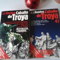 Libros antiguos: CABALLO DE TROYA 1 Y 4-J.J.BENITEZ. Lote 162386926