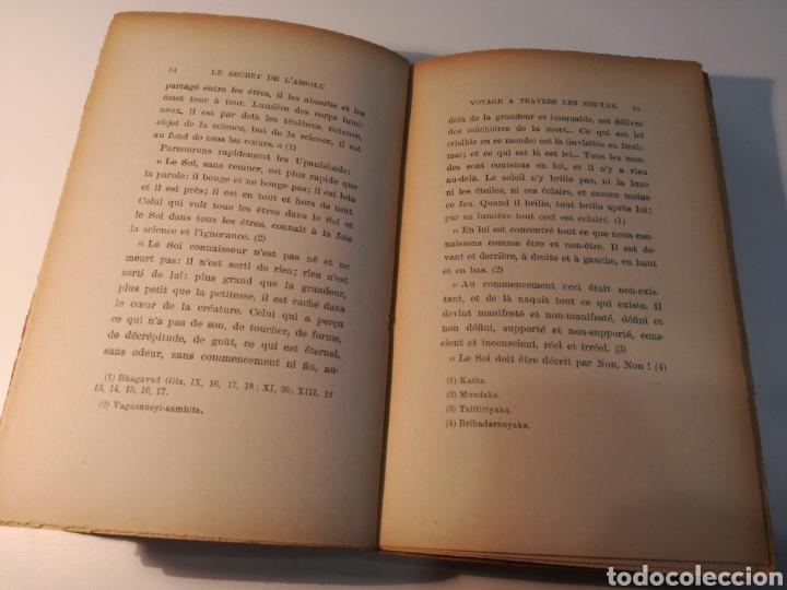 Libros antiguos: LIBRO RARO: LE SECRET DE LABSOLU (1892) - BIBLIOTECA DEL RENACIMIENTO ORIENTAL - Foto 3 - 162782017