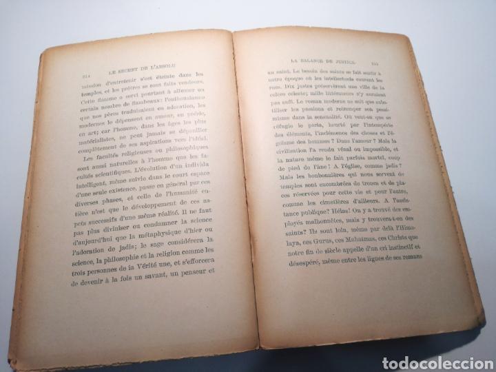 Libros antiguos: LIBRO RARO: LE SECRET DE LABSOLU (1892) - BIBLIOTECA DEL RENACIMIENTO ORIENTAL - Foto 5 - 162782017