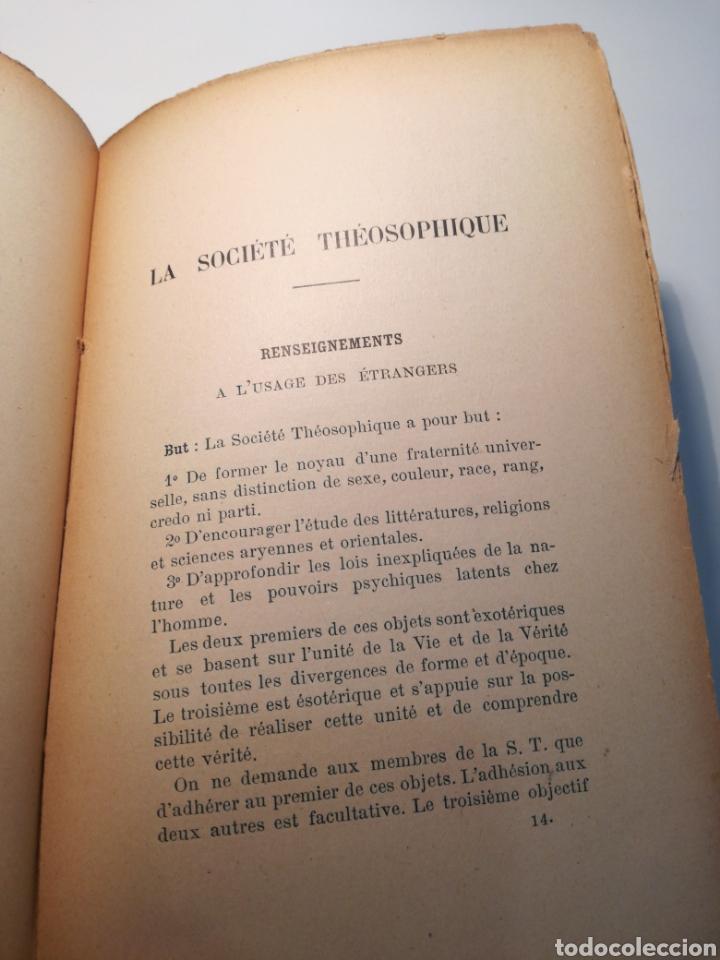 Libros antiguos: LIBRO RARO: LE SECRET DE LABSOLU (1892) - BIBLIOTECA DEL RENACIMIENTO ORIENTAL - Foto 6 - 162782017