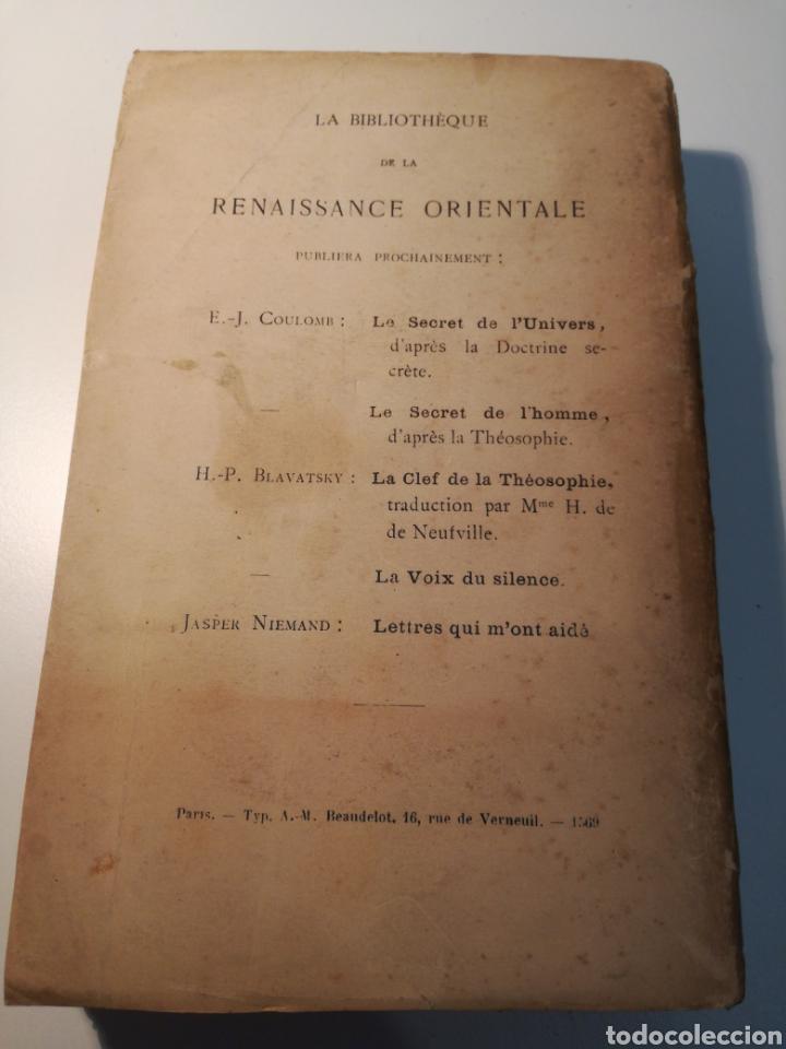 Libros antiguos: LIBRO RARO: LE SECRET DE LABSOLU (1892) - BIBLIOTECA DEL RENACIMIENTO ORIENTAL - Foto 7 - 162782017