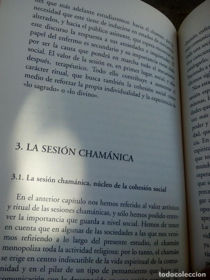 Libros antiguos: LIBRO EL CHAMAN TERAPIA ARTE Y RITUAL DE PEDRO JAVIER RUIZ - Foto 3 - 168291312
