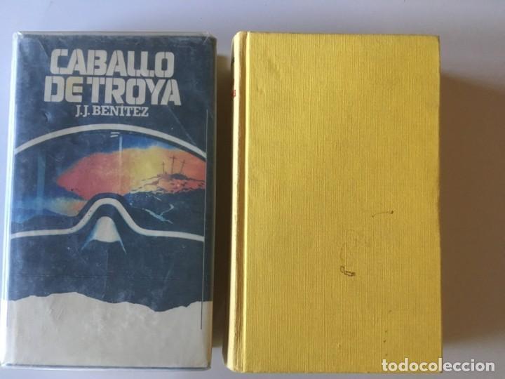 DOS TOMOS DE CABALLO DE TROYA UNO - PRIMERAS EDICIONES AMBOS EN SUS EDITORIALES (Libros Antiguos, Raros y Curiosos - Parapsicología y Esoterismo)