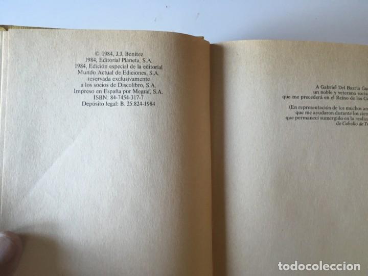 Libros antiguos: DOS TOMOS DE CABALLO DE TROYA UNO - PRIMERAS EDICIONES AMBOS EN SUS EDITORIALES - Foto 5 - 168613844