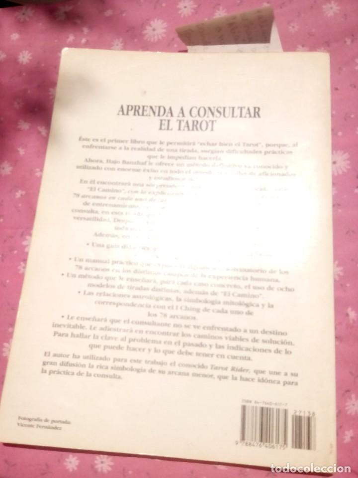 Libros antiguos: Aprenda a consultar el tarot Banzhaf, Hajo -Editor: Editorial Edaf, S.A el grande - Foto 2 - 168866144