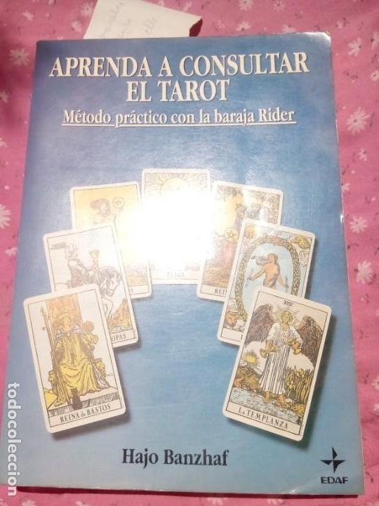 APRENDA A CONSULTAR EL TAROT BANZHAF, HAJO -EDITOR: EDITORIAL EDAF, S.A EL GRANDE (Libros Antiguos, Raros y Curiosos - Parapsicología y Esoterismo)