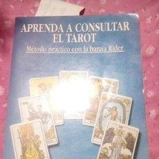 Libros antiguos: APRENDA A CONSULTAR EL TAROT BANZHAF, HAJO -EDITOR: EDITORIAL EDAF, S.A EL GRANDE. Lote 168866144