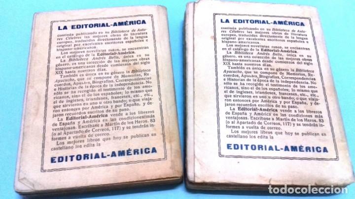 Libros antiguos: Mas allá de la muerte / Leon Denis. 2 vol. Editorial América, Imprenta Viuda AG Izquierdo. 1929 - Foto 3 - 172364407