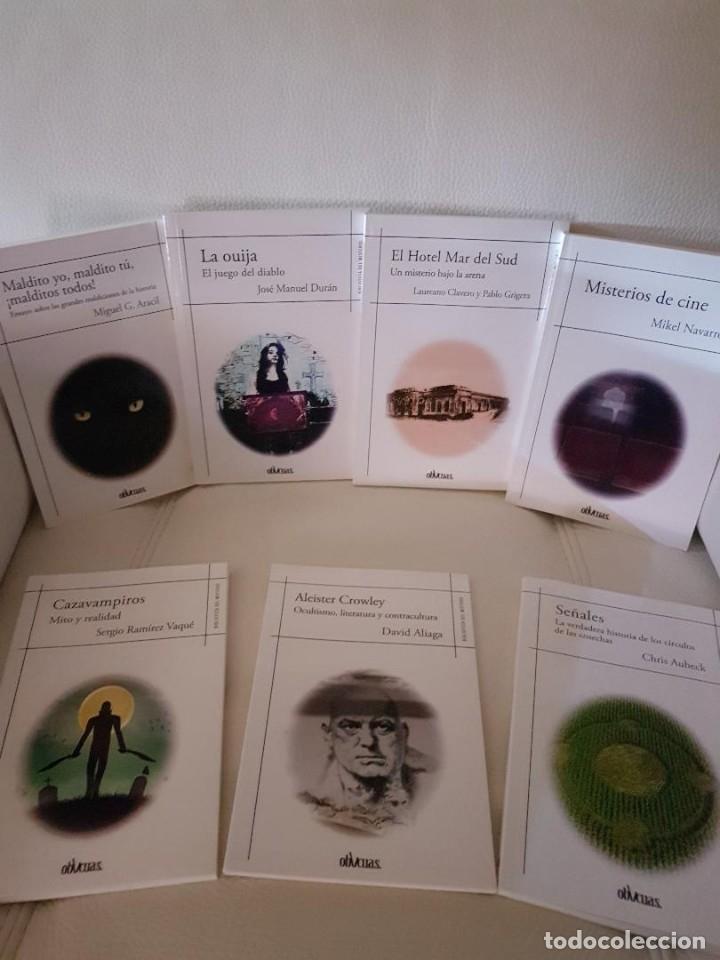 LOTE DE 7 LIBROS DE LA COLECCIÓN BIBLIOTECA DEL MISTERIO - EDICIONES OBLICUAS - NUEVOS (Libros Antiguos, Raros y Curiosos - Parapsicología y Esoterismo)
