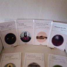 Libros antiguos: LOTE DE 7 LIBROS DE LA COLECCIÓN BIBLIOTECA DEL MISTERIO - EDICIONES OBLICUAS - NUEVOS. Lote 172418824