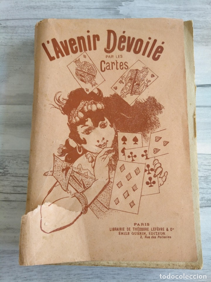 Libros antiguos: RARO: EL PORVENIR DESVELADO POR LAS CARTAS - LAVENIR DÉVOILÉ PAR LES CARTES - Foto 2 - 174581588