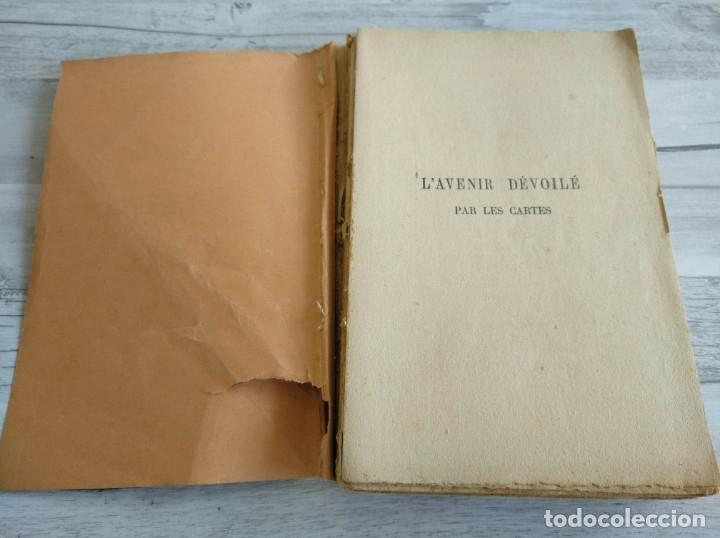 Libros antiguos: RARO: EL PORVENIR DESVELADO POR LAS CARTAS - LAVENIR DÉVOILÉ PAR LES CARTES - Foto 3 - 174581588