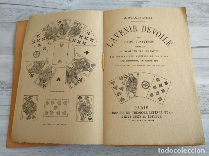 Libros antiguos: RARO: EL PORVENIR DESVELADO POR LAS CARTAS - LAVENIR DÉVOILÉ PAR LES CARTES - Foto 4 - 174581588