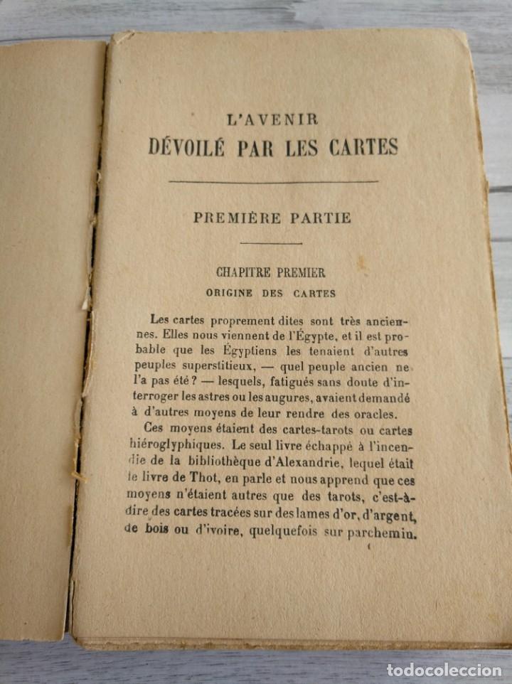 Libros antiguos: RARO: EL PORVENIR DESVELADO POR LAS CARTAS - LAVENIR DÉVOILÉ PAR LES CARTES - Foto 5 - 174581588