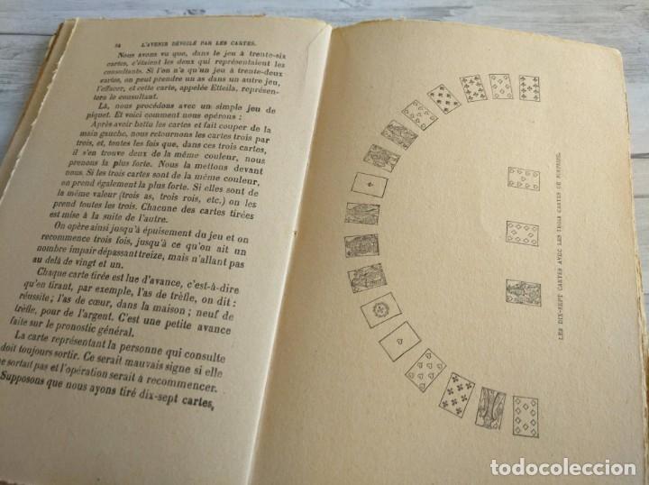 Libros antiguos: RARO: EL PORVENIR DESVELADO POR LAS CARTAS - LAVENIR DÉVOILÉ PAR LES CARTES - Foto 8 - 174581588