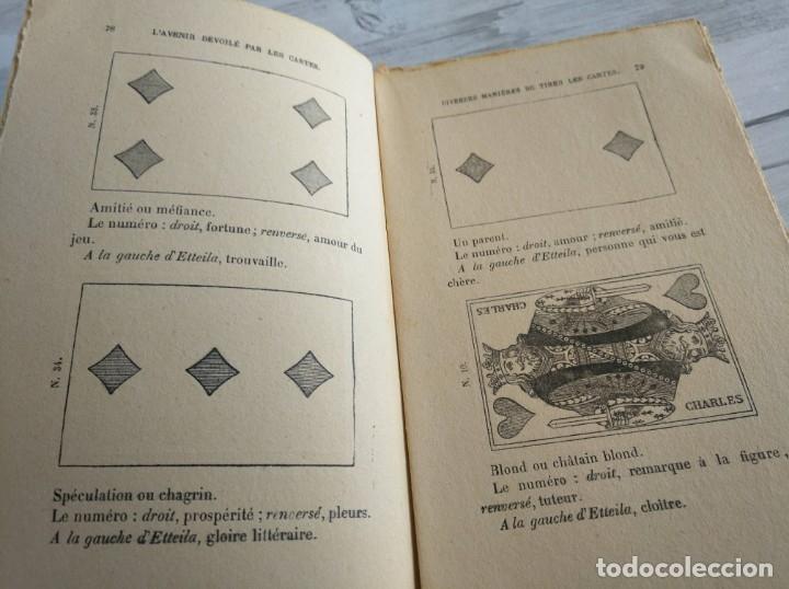 Libros antiguos: RARO: EL PORVENIR DESVELADO POR LAS CARTAS - LAVENIR DÉVOILÉ PAR LES CARTES - Foto 10 - 174581588