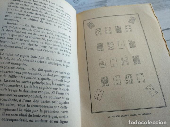 Libros antiguos: RARO: EL PORVENIR DESVELADO POR LAS CARTAS - LAVENIR DÉVOILÉ PAR LES CARTES - Foto 14 - 174581588