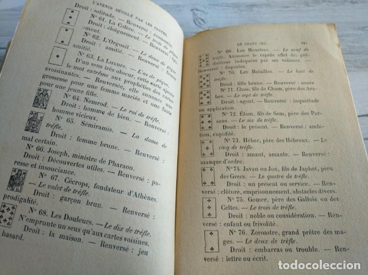 Libros antiguos: RARO: EL PORVENIR DESVELADO POR LAS CARTAS - LAVENIR DÉVOILÉ PAR LES CARTES - Foto 15 - 174581588