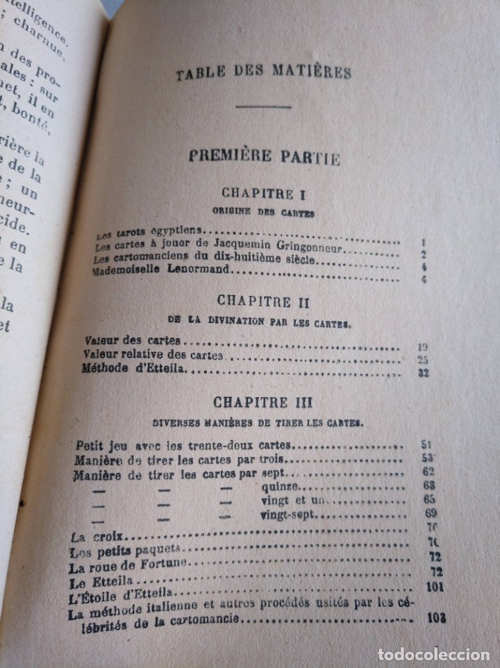 Libros antiguos: RARO: EL PORVENIR DESVELADO POR LAS CARTAS - LAVENIR DÉVOILÉ PAR LES CARTES - Foto 16 - 174581588