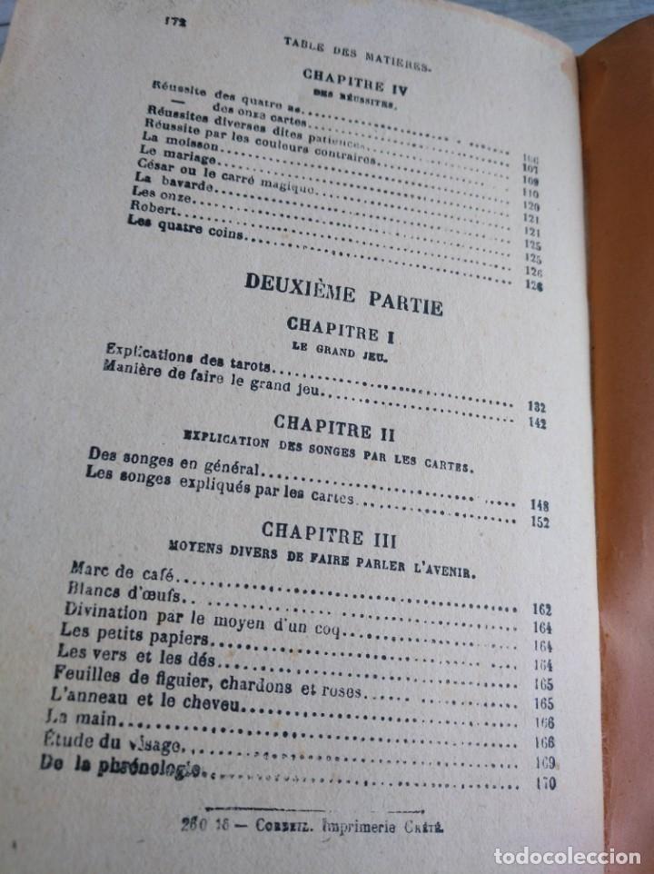 Libros antiguos: RARO: EL PORVENIR DESVELADO POR LAS CARTAS - LAVENIR DÉVOILÉ PAR LES CARTES - Foto 17 - 174581588