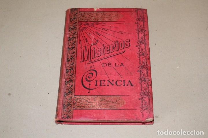 MISTERIOS DE LA CIENCIA (SONAMBULISMO, HIPNOTISMO, ESPIRITISMO ETC ETC) - ARMANDO BAEZA SALVADOR - (Libros Antiguos, Raros y Curiosos - Parapsicología y Esoterismo)