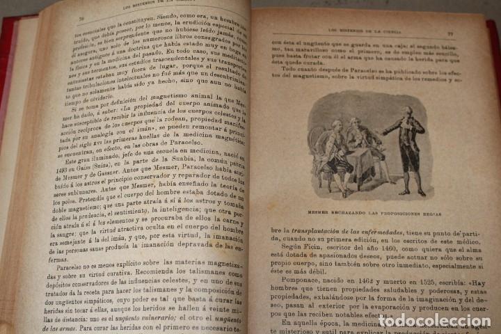 Libros antiguos: MISTERIOS DE LA CIENCIA (SONAMBULISMO, HIPNOTISMO, ESPIRITISMO ETC ETC) - ARMANDO BAEZA SALVADOR - - Foto 3 - 175701948