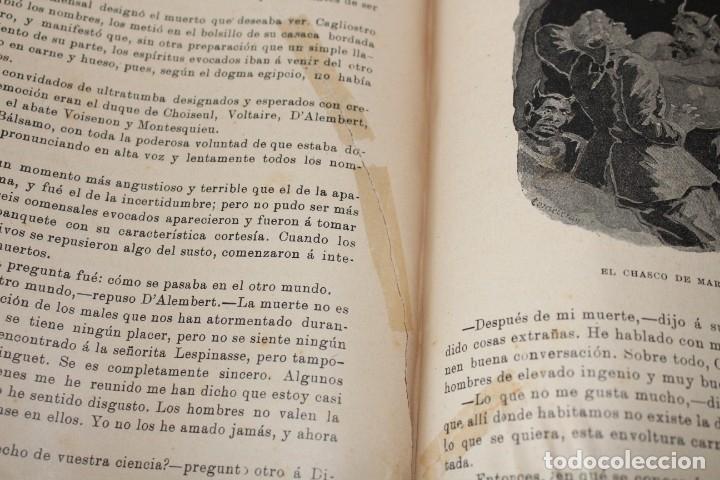 Libros antiguos: MISTERIOS DE LA CIENCIA (SONAMBULISMO, HIPNOTISMO, ESPIRITISMO ETC ETC) - ARMANDO BAEZA SALVADOR - - Foto 7 - 175701948
